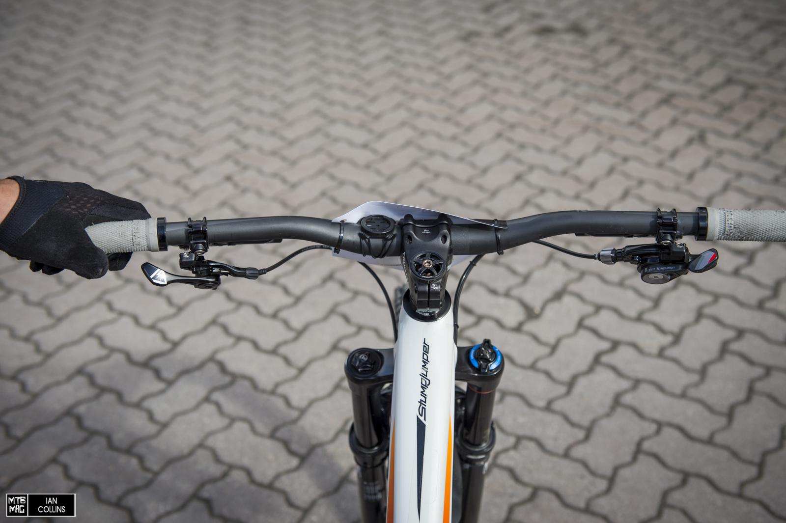 Rider's view.