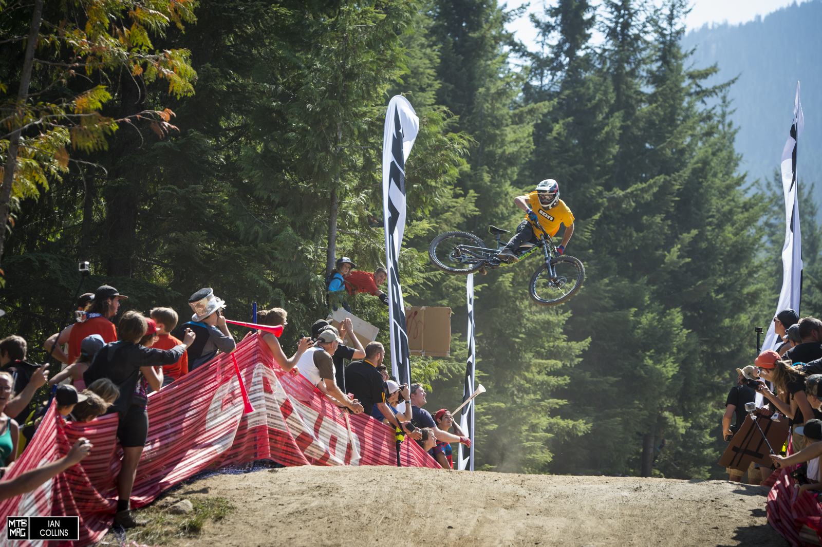 Coming all the way from Italy, Torquato Testa made the finals.  He'll be riding in Joyride as well.