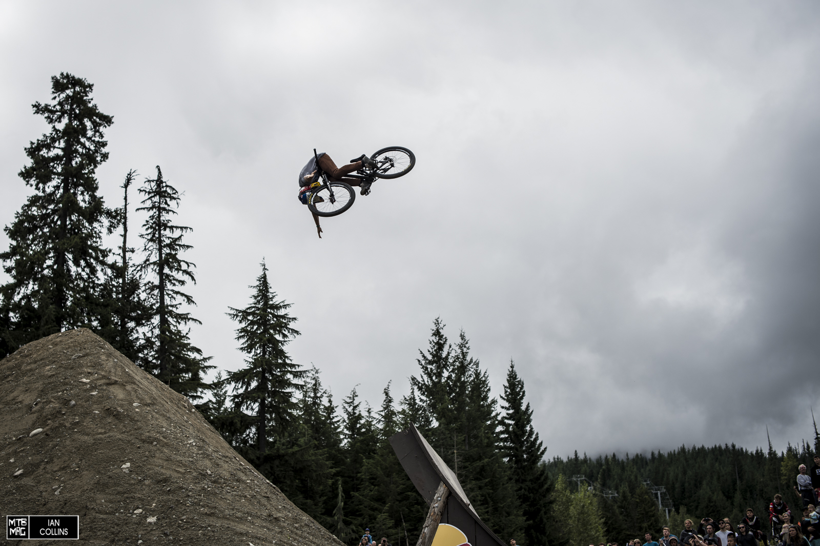 Anthony Messere didn't have a very good day but he threw down on some tricks for sure.