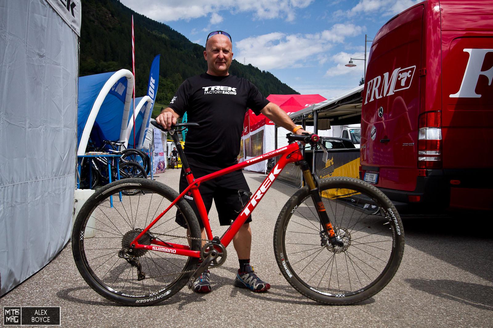 Bike Check Dan Mcconnell S Trek Procaliber Mtb Mag Com