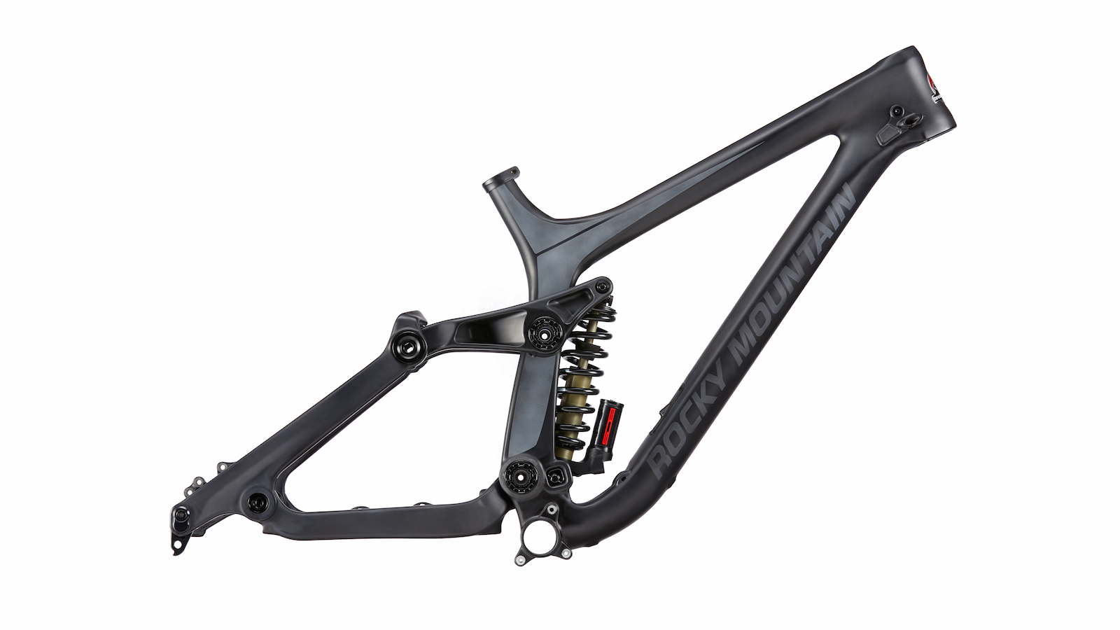 Maiden Unlimited Frame Only C1 (Black) side