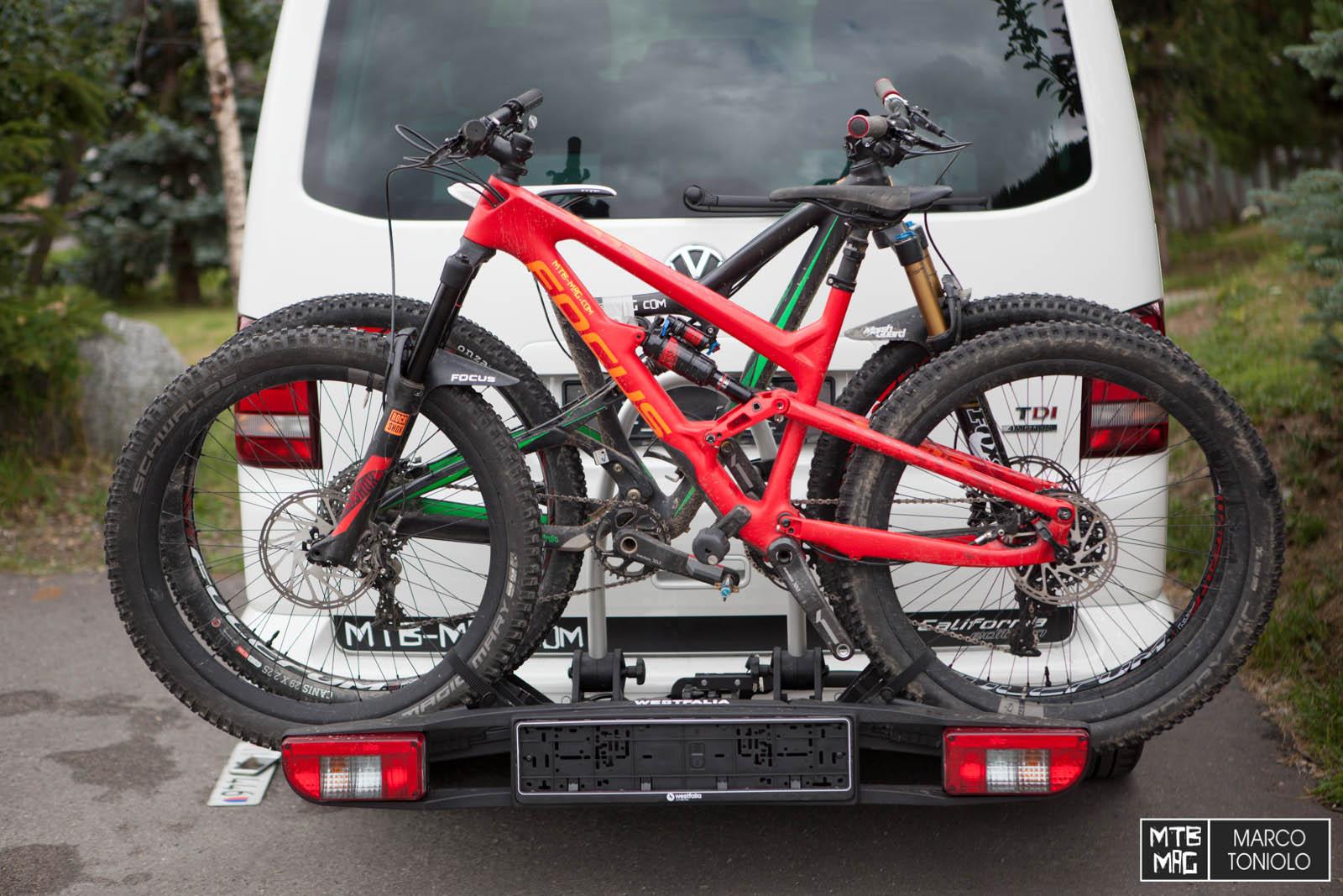 mtb mag com mountain bike online magazine test portabici westfalia bc60. Black Bedroom Furniture Sets. Home Design Ideas