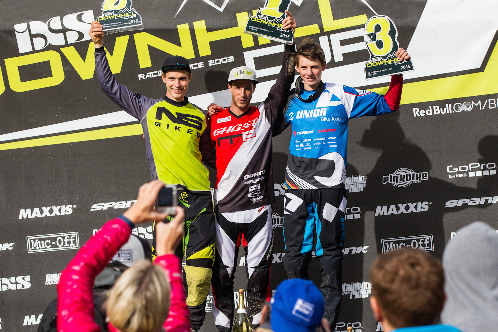 Awards Elite Men Overall - EDC Leogang 2015