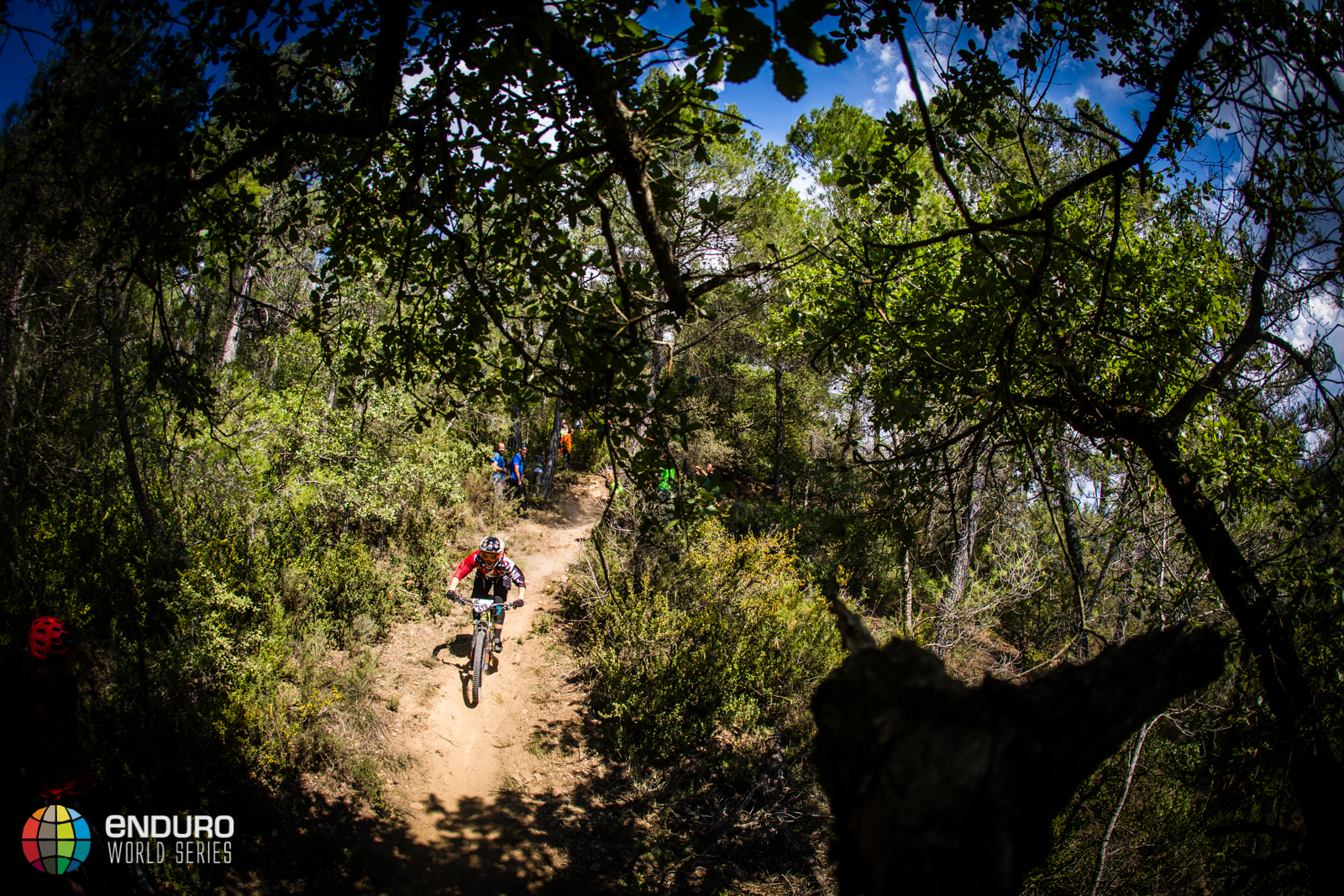 Andreane Lanther-Nadeau on stage seven. EWS round 7, Ainsa, Spain. Photo by Matt Wragg.