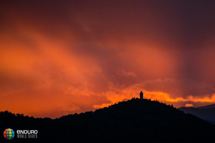One final sunset. EWS round 7, Ainsa, Spain. Photo by Matt Wragg.