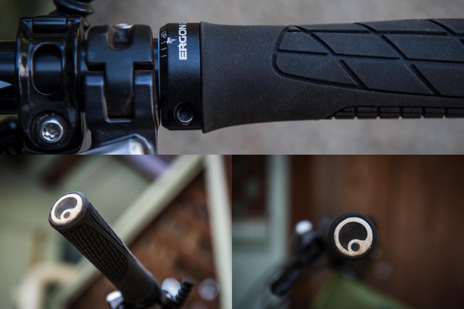 Ergon GA2 Mountain Bike Grips Black