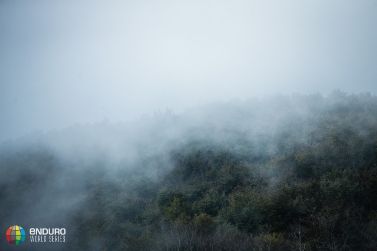Misty forests. EWS round 8, Finale Ligure, Italy. Photo by Matt Wragg.