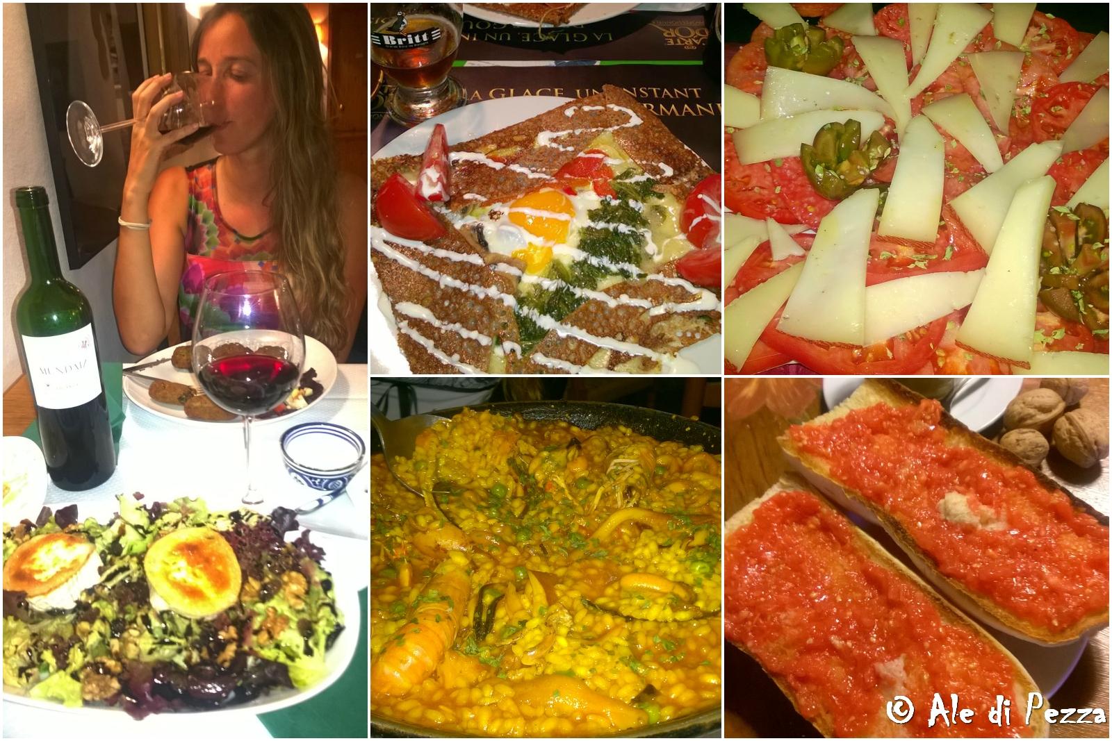 Collage cibo