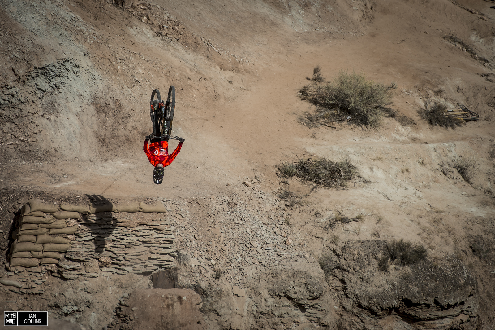 Last year, Fairclough fully expected to flip the second of his THREE canyon gaps. This year he greased it. We're still scratching our heads and wondering how Berrecloth's run ousted his.