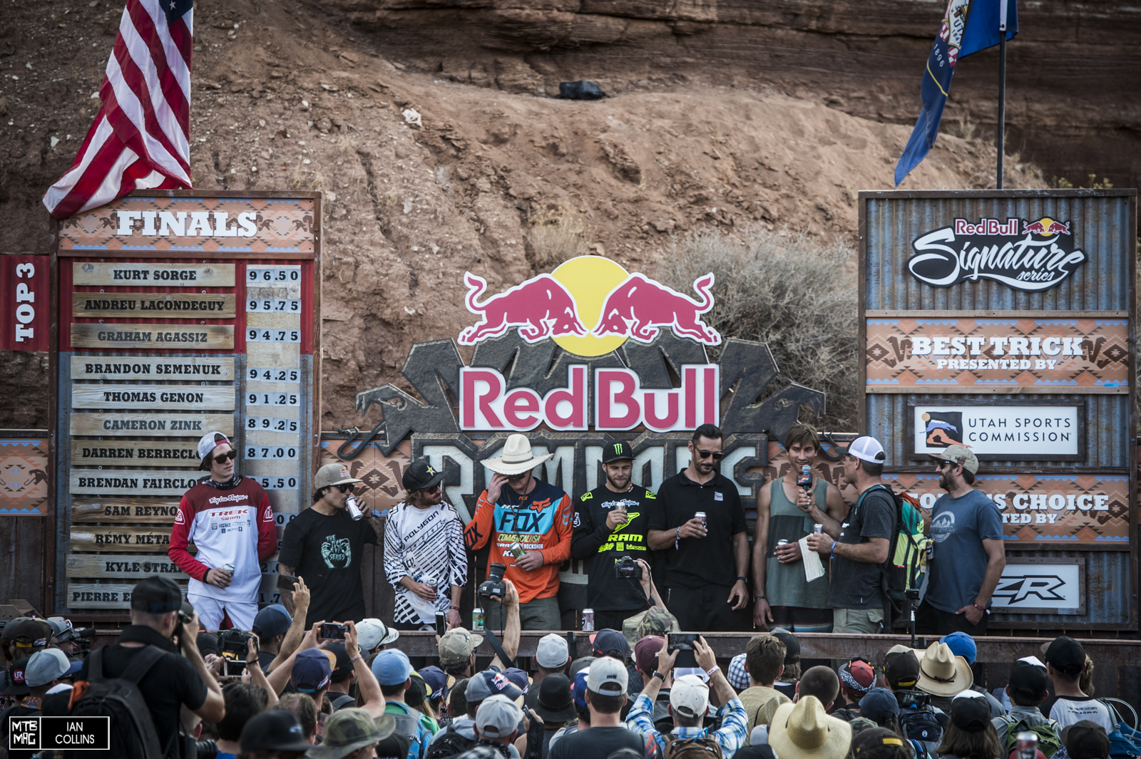 Every Rampage winner EVER. So cool to see everyone on stage.