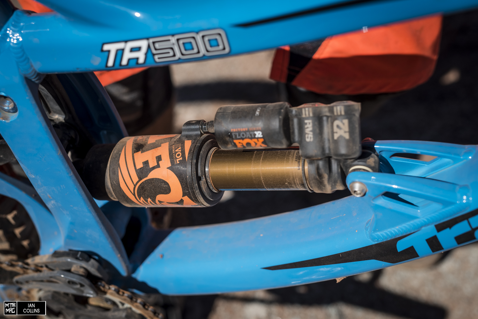 The Orange Fox decals work perfectly with his TLD kit.