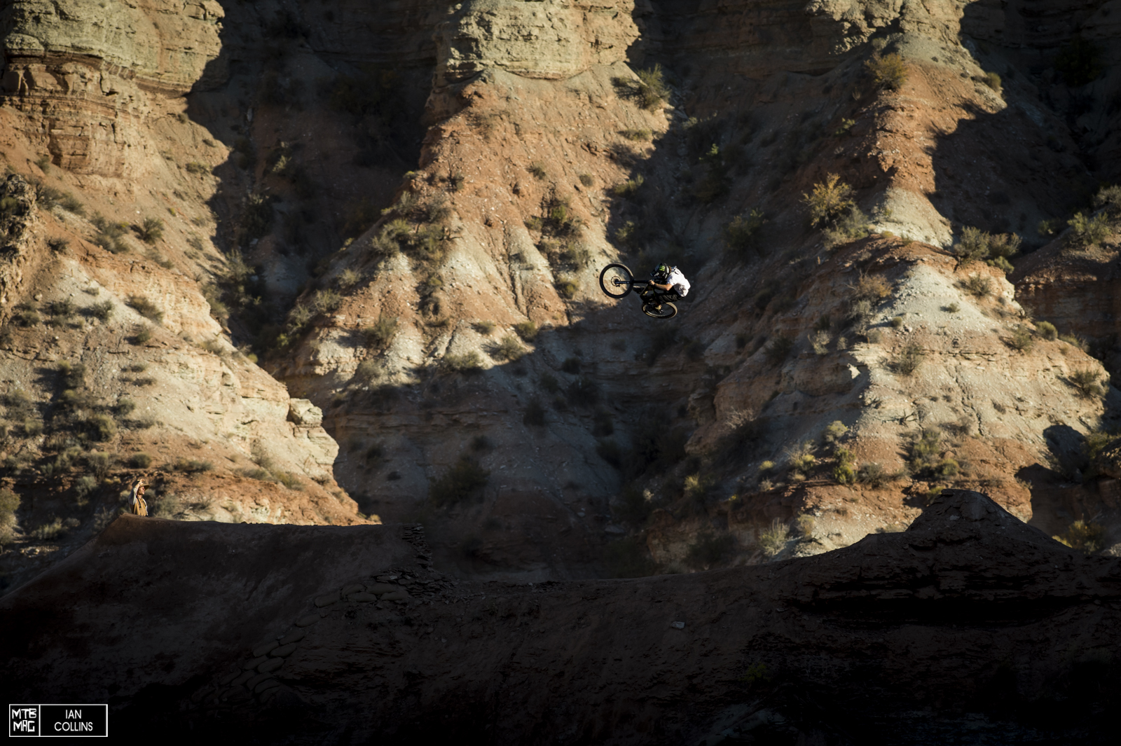 Aggy blowing minds. When the sun drops, it cools down and riders start to throw down.