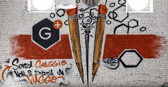 Graphene factory murales