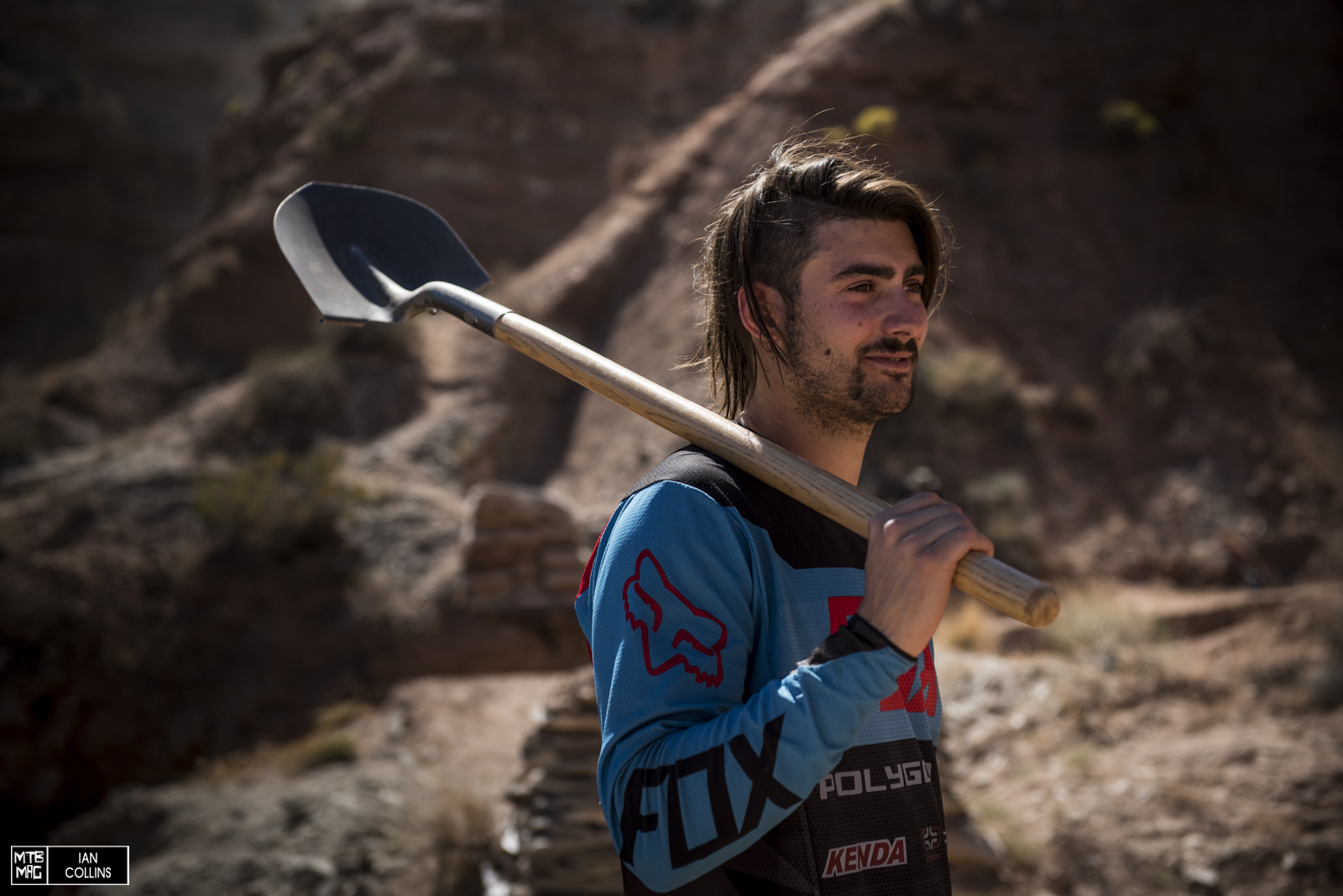 Sam Reynolds has made his first pilgrimage to Utah for his first Red Bull Rampage.  The riding here is right up his alley.  He should do big things.