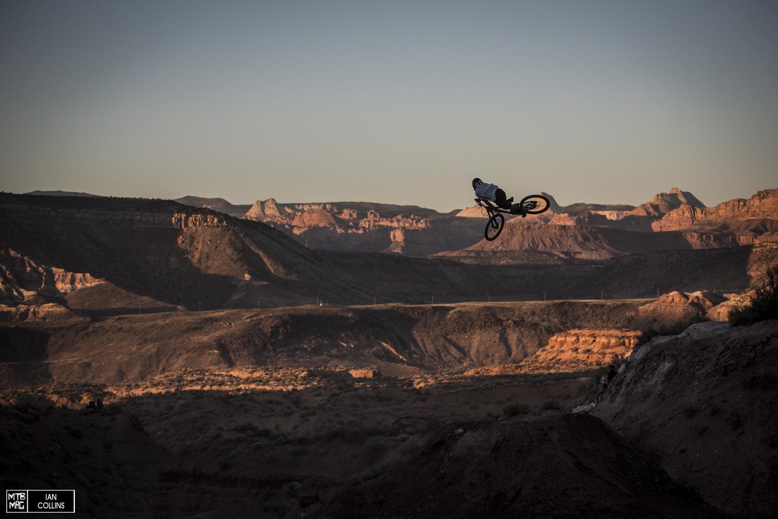 Kurt Sorge - 2012 winner whipping deep into the Utah desert...More photos tonight