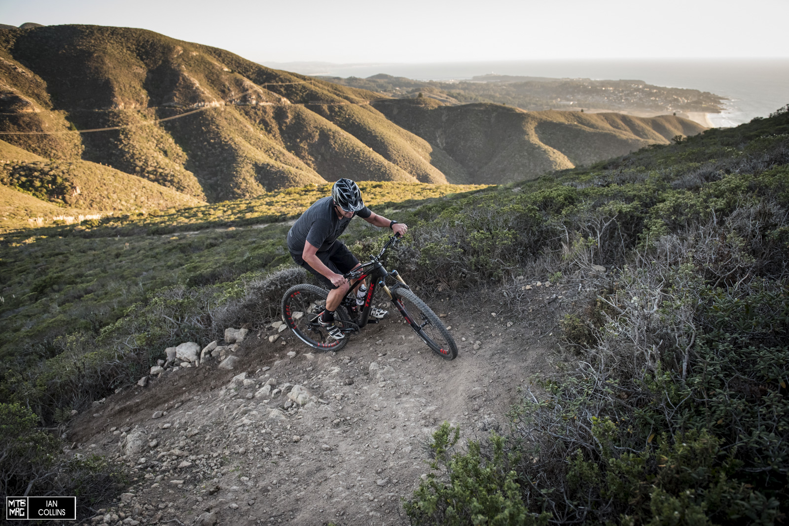 The Fuel EX is a champ on the climbs. Easily one of the best we've ridden.