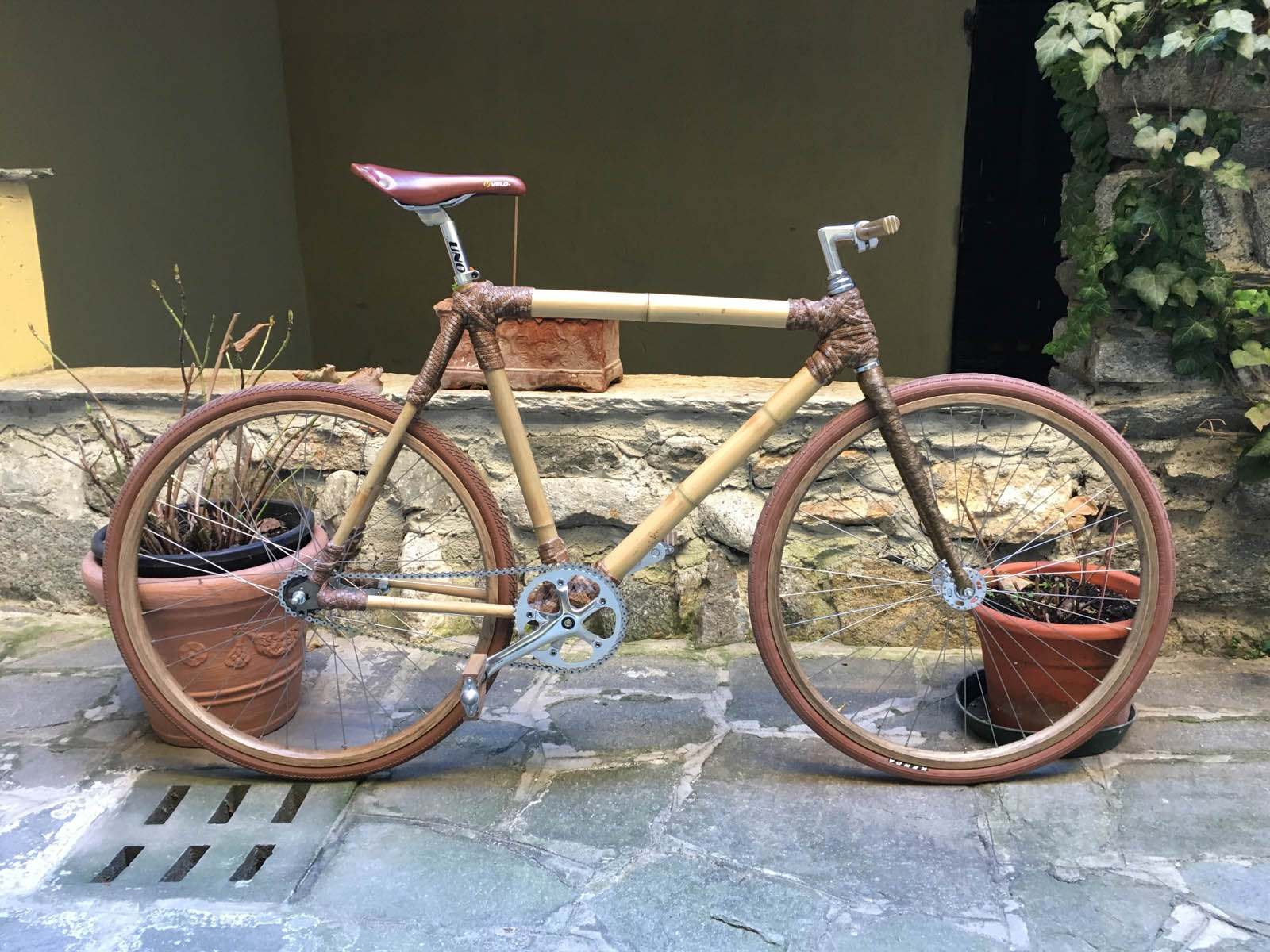 La Mia Bici In Legno Bdc Magcom Bici Da Corsa
