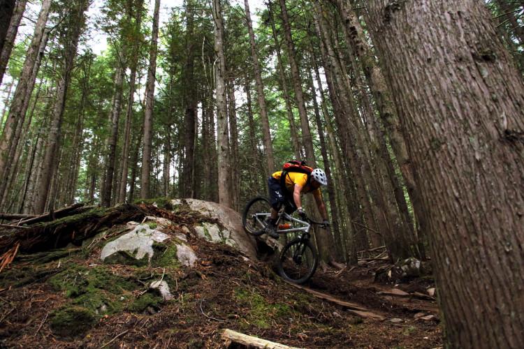 Squamish: scelte originali nella costruzione dei sentieri.