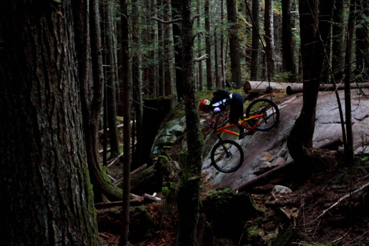 Jaclyn nel proprio habitat, a Squamish