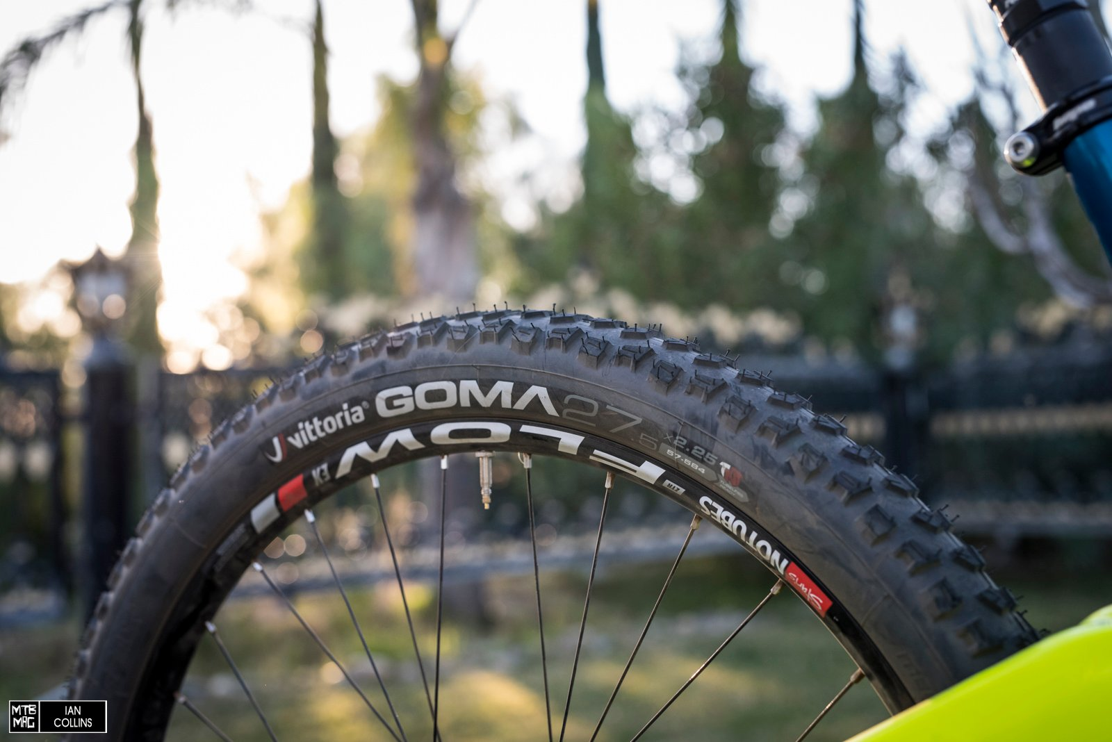Vittoria is the new tire sponsor for GT's Enduro team. We'll see how they get along, but the riders genuinely seem happy thus far.