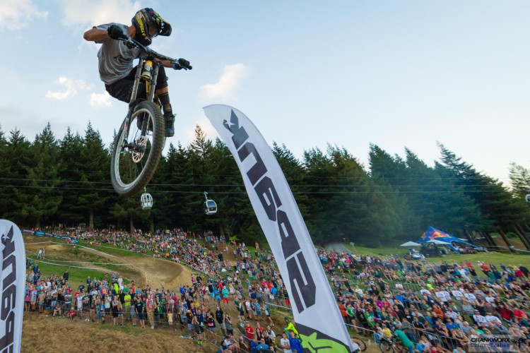 at Crankworx in Rotorua, New Zealand.  (Photo by Clint Trahan/Crankworx)