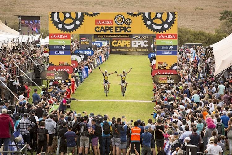Absa Cape Epic 2016 Stage 7 - Stellenbosch to Durbanville