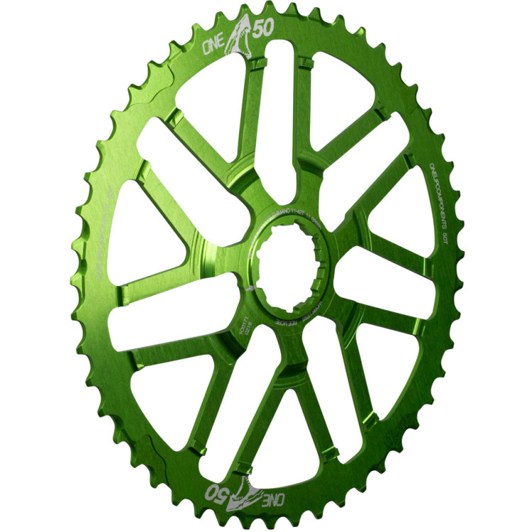 OneUp-Components-50T-Shark-Sprocket-Green-3d-front-966