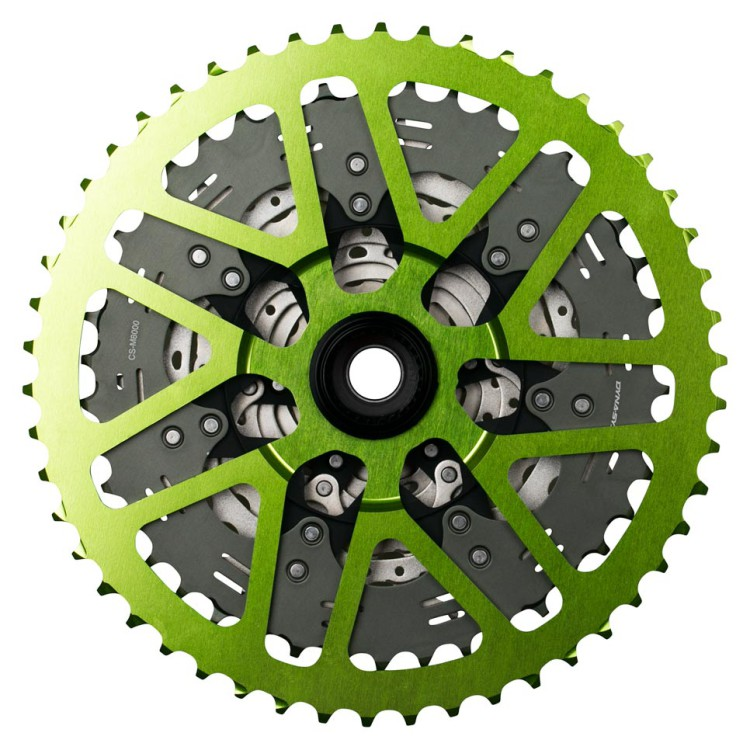 OneUp-Components-50T-Shark-Sprocket-Green-Assembled-M700-Back-966