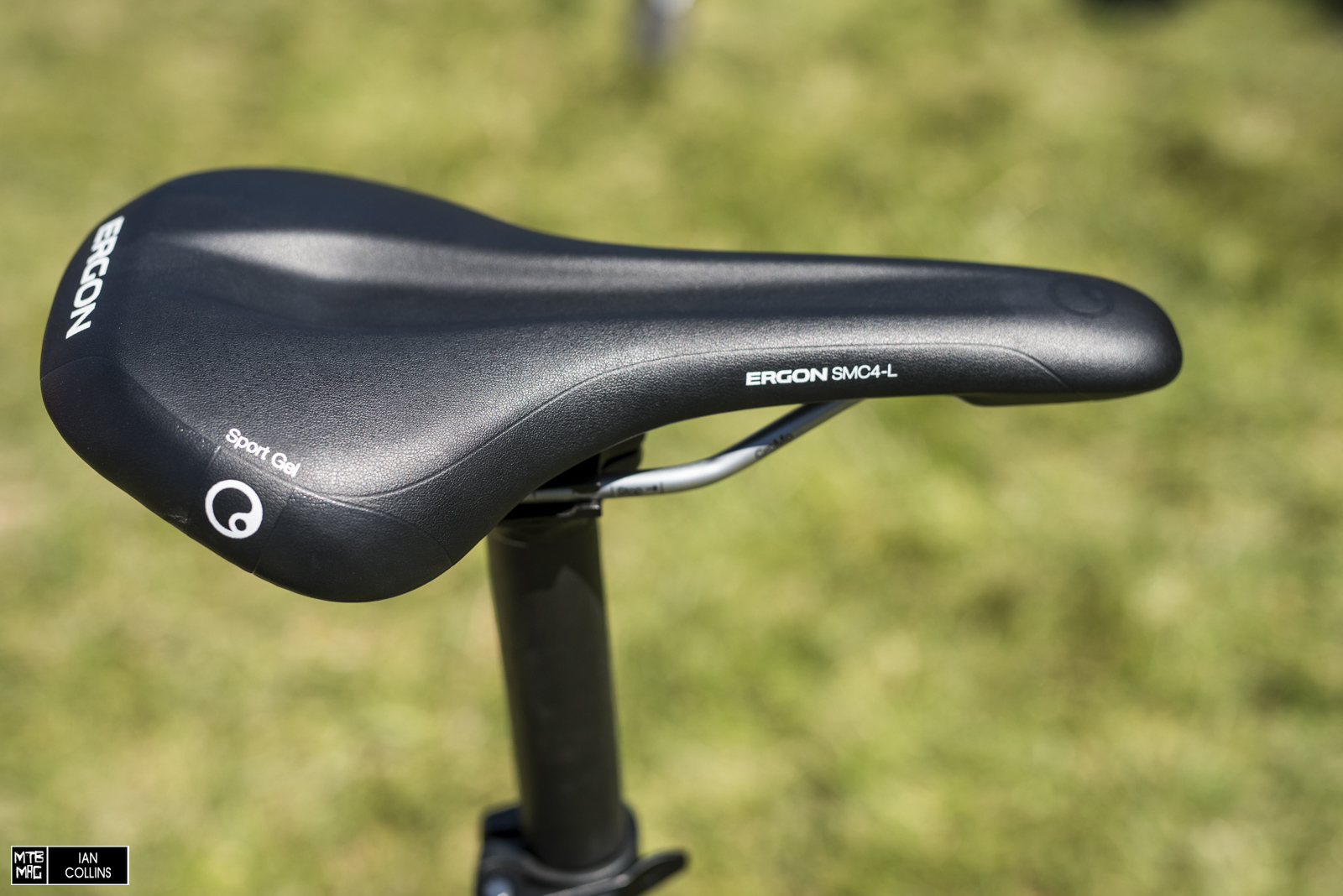 New Ergon SMC4-L saddle. A bit wider with a bit more gel and comes in multiple widths. We'll be testing one shortly. Stay tuned.