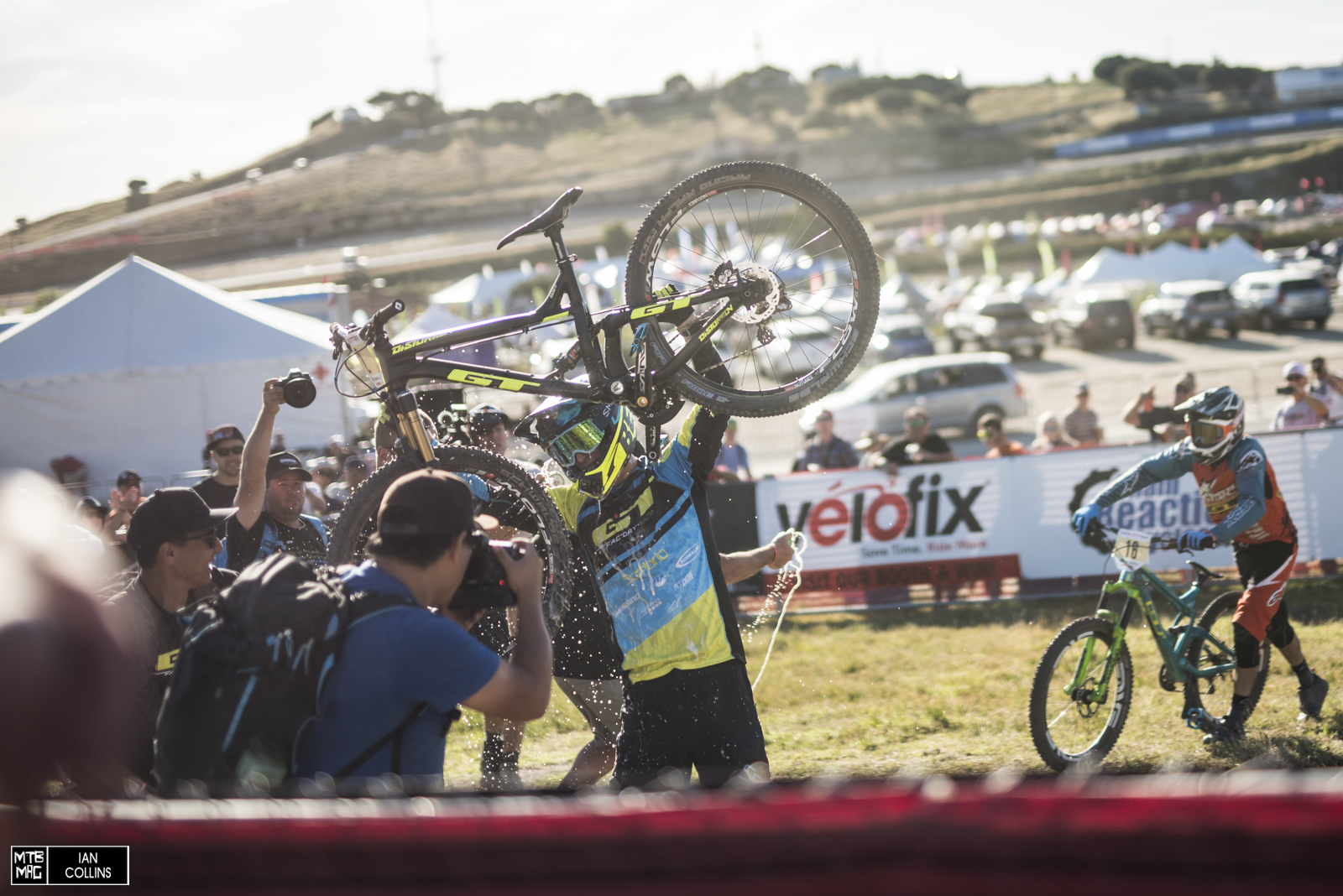 Martin Maes is once again the king of Sea Otter Dual Slalom.