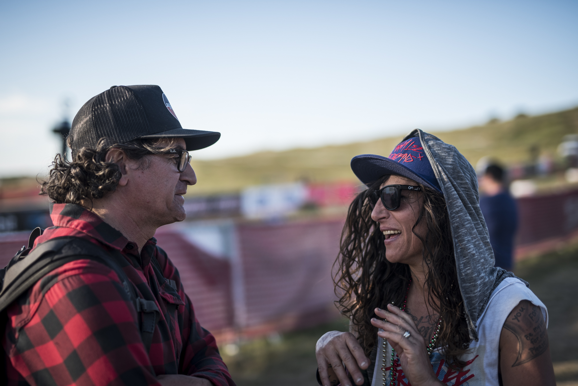 OG as it gets right here : Joe Parkin and Missy. Story time about full lycra and racing DH with bar ends.