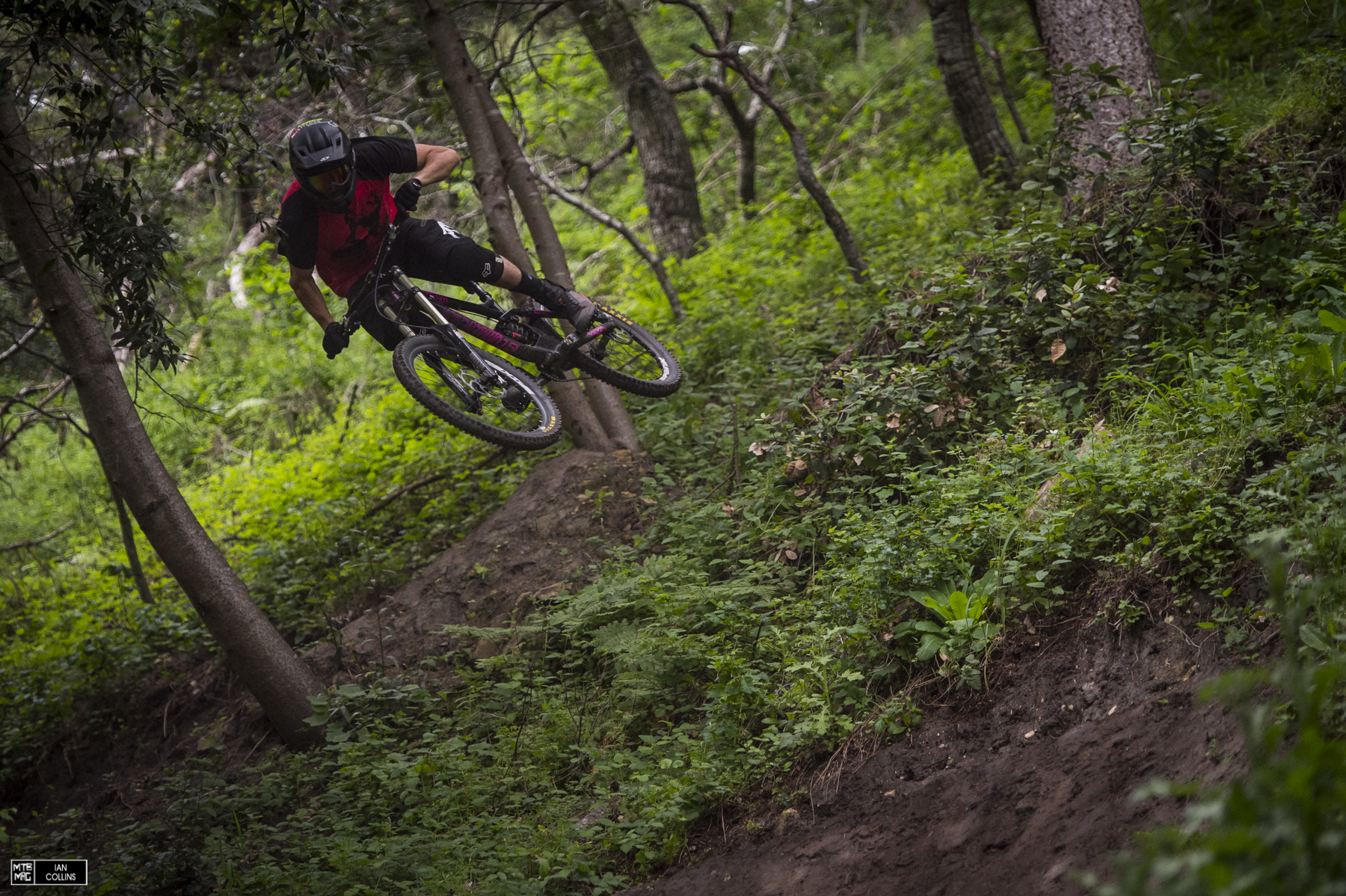 Brendan Howey got an invite this year...he was eager to get started.