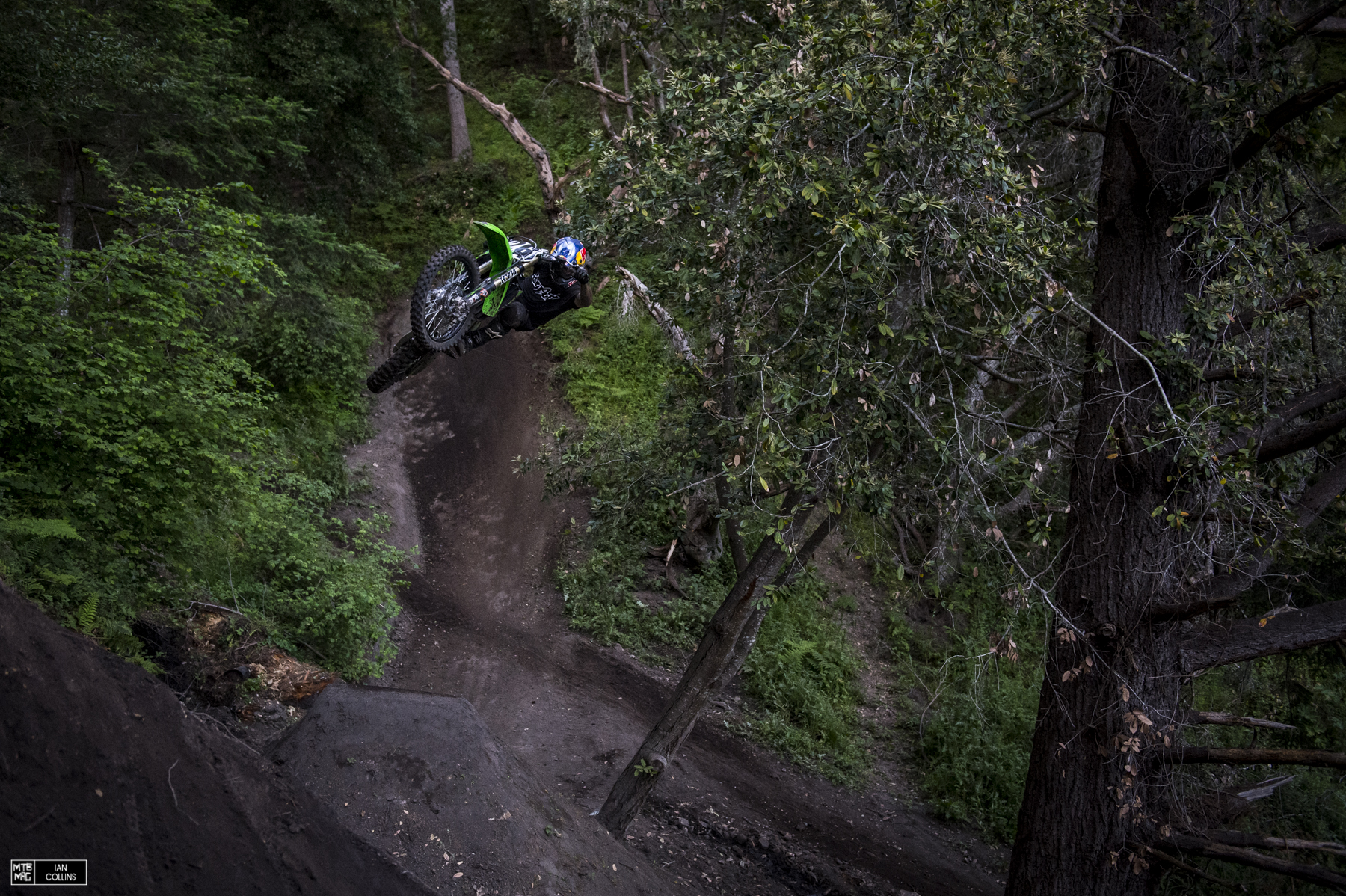Andreu Lacondaguy. On a moto. Just think about that.