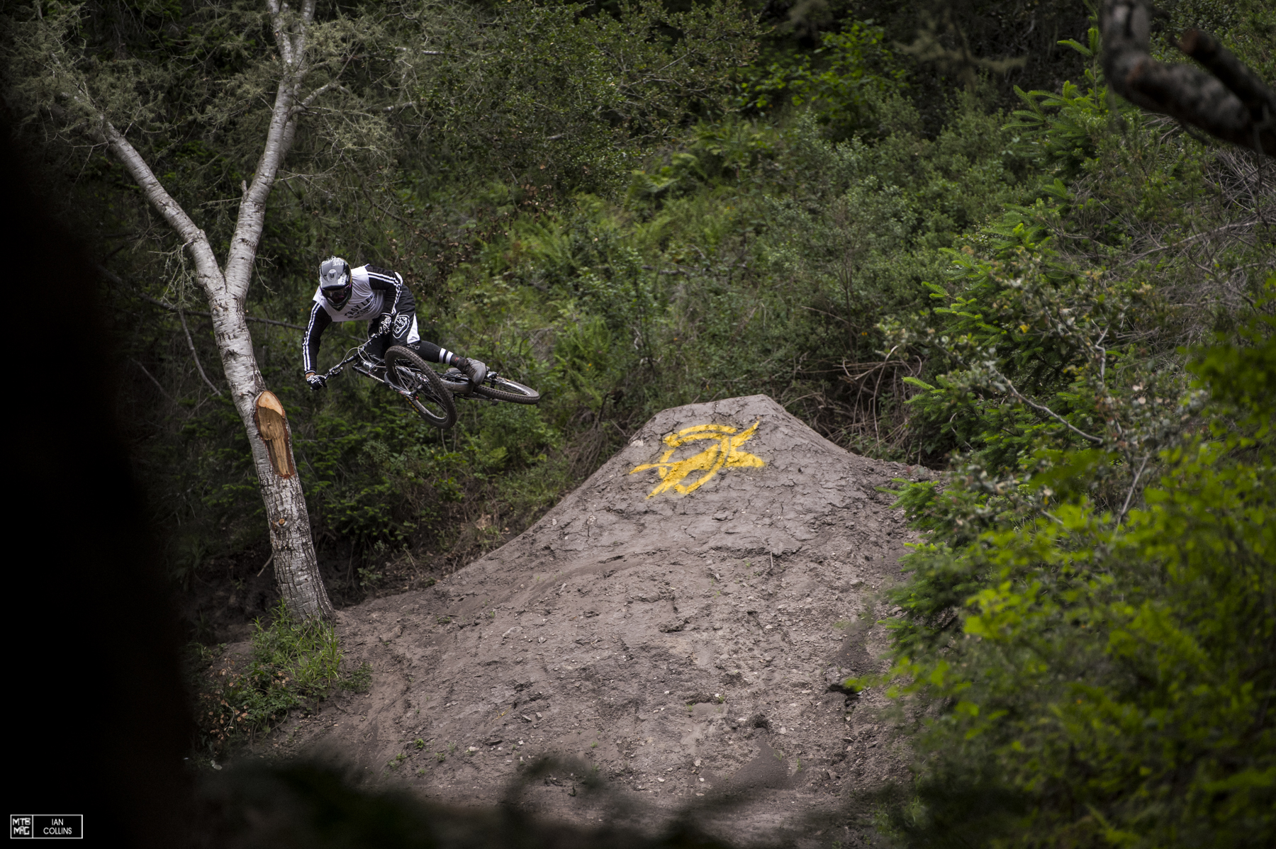 Kyle Jameson was steezing hard. After all, he built most of these jumps.
