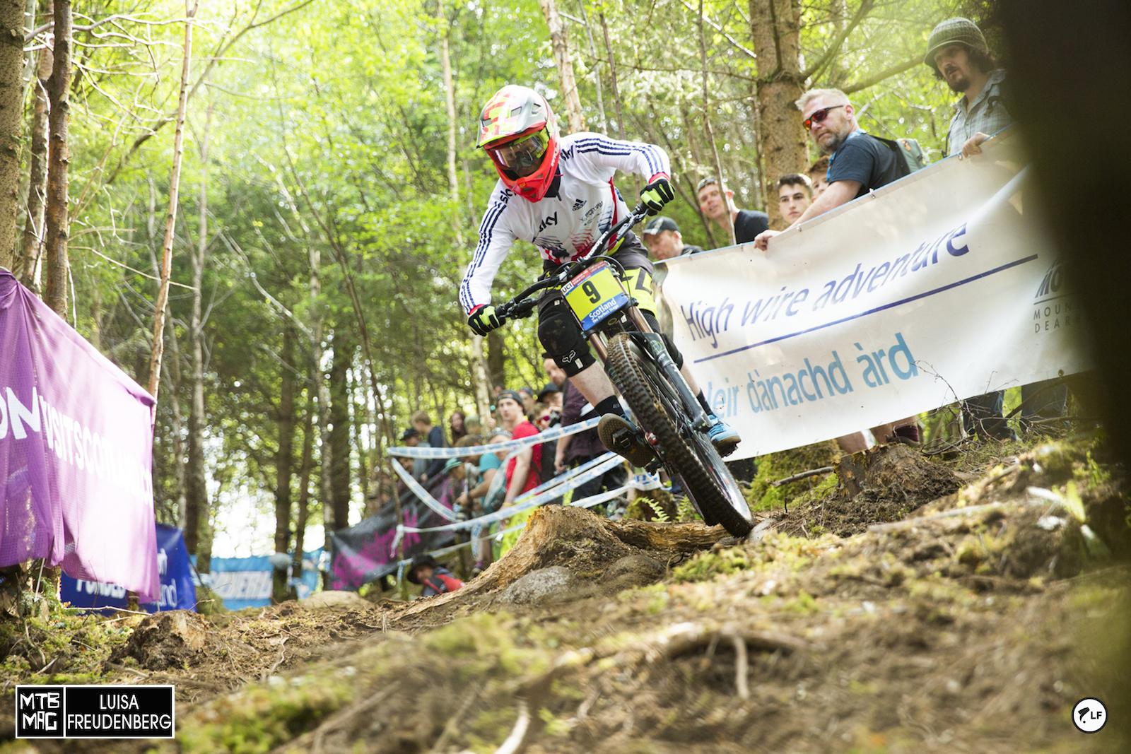 Charlie Hatton platzierte sich auf Platz 2 in der Juniorenwertung vor heimischem Publikum