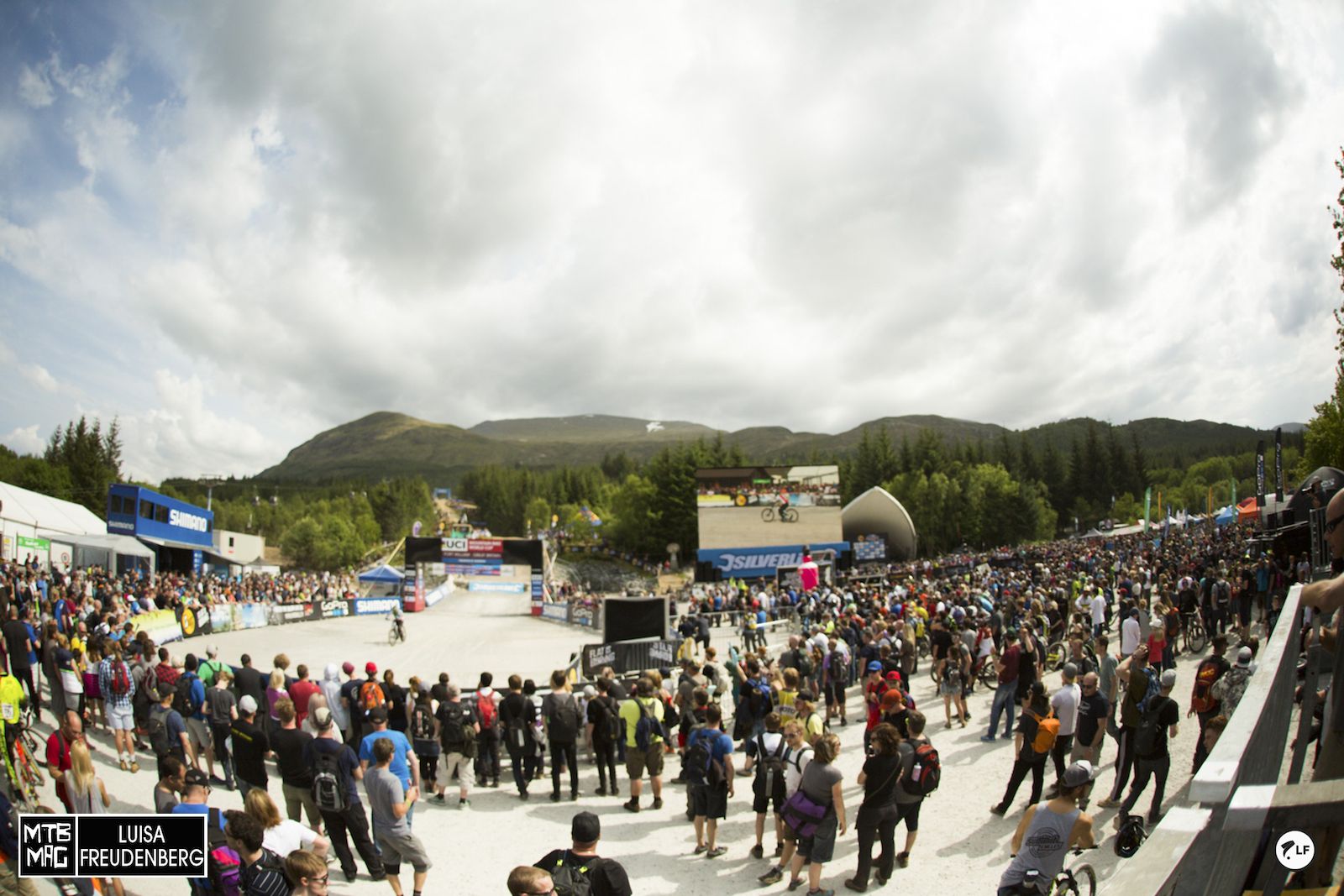 Such a great crowd at Fort William. The strongest all year.