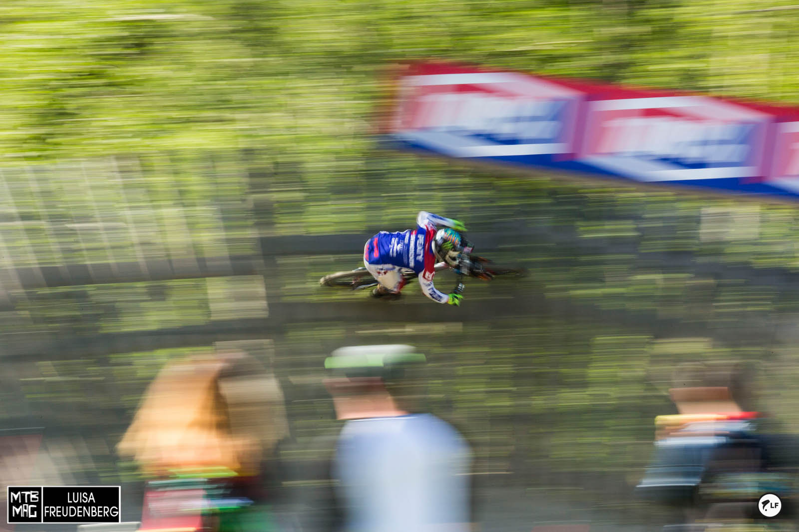 Peaty. Last time for him racing WC in Leogang