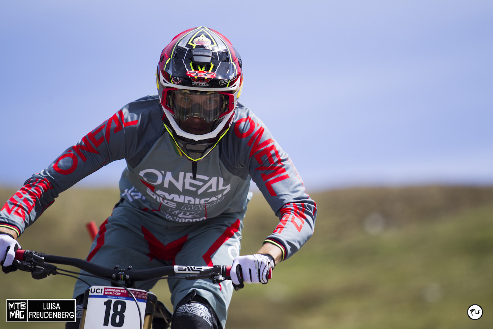 NEVER count Minnaar out....especially at Fort William.  He won here last year.