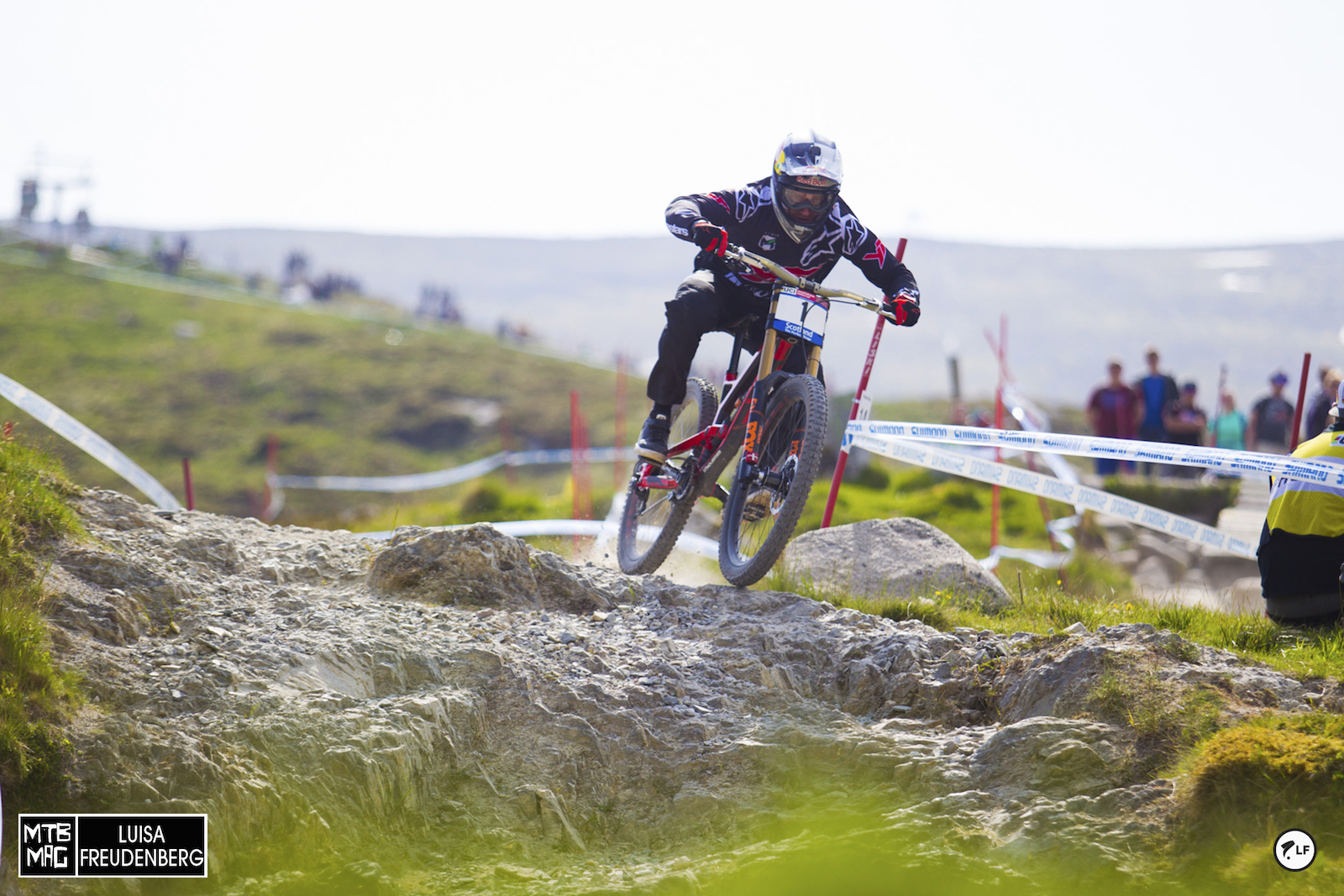 Aaron Gwin is on form, but hasn't done all that well at Fort William in the past.