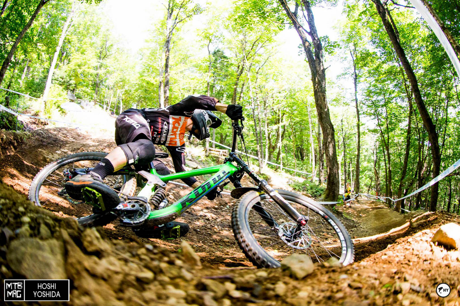 Connor Fearon deep in a turn. He always shows up to ride/film/destroy Bromont a few days ahead of MSA. We can't wait to see what he's been up to.