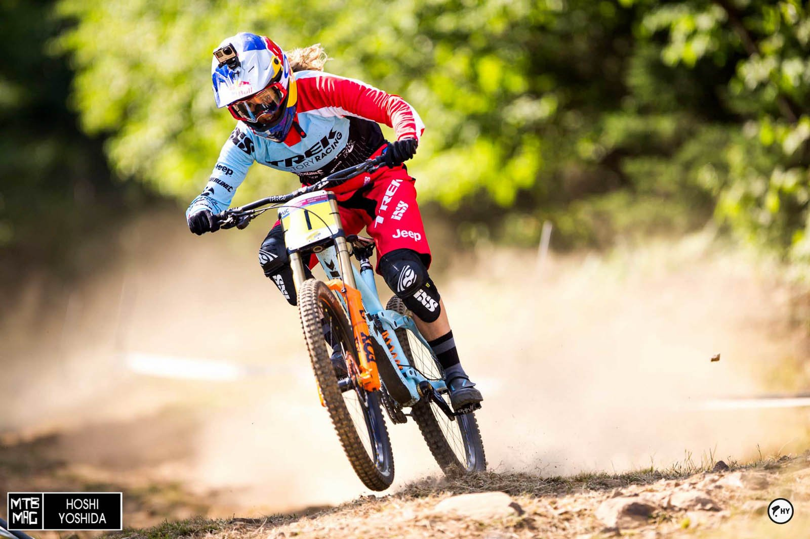 Rachel Atherton working on her 12th win in a row.