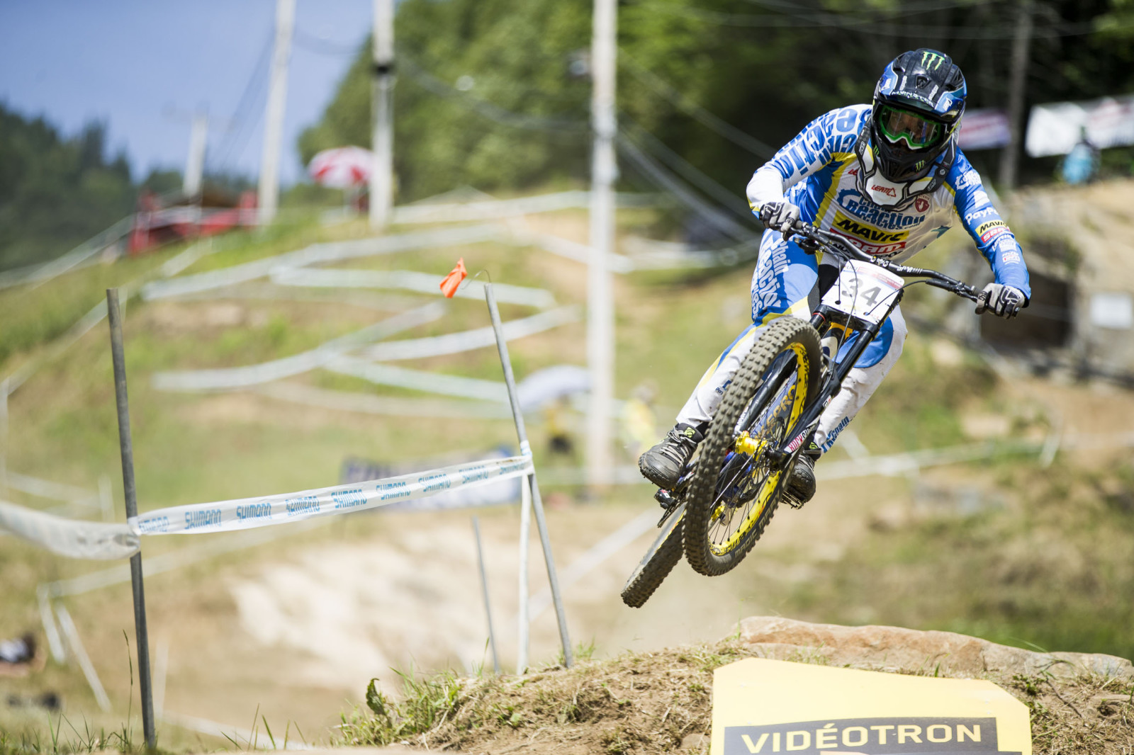 Sam Hill, low and steezy.