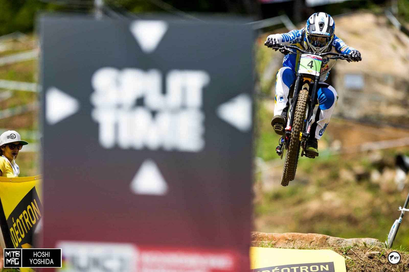 Elliot Heap, 3rd in Junio men's and looking like he's going to have a bright future.