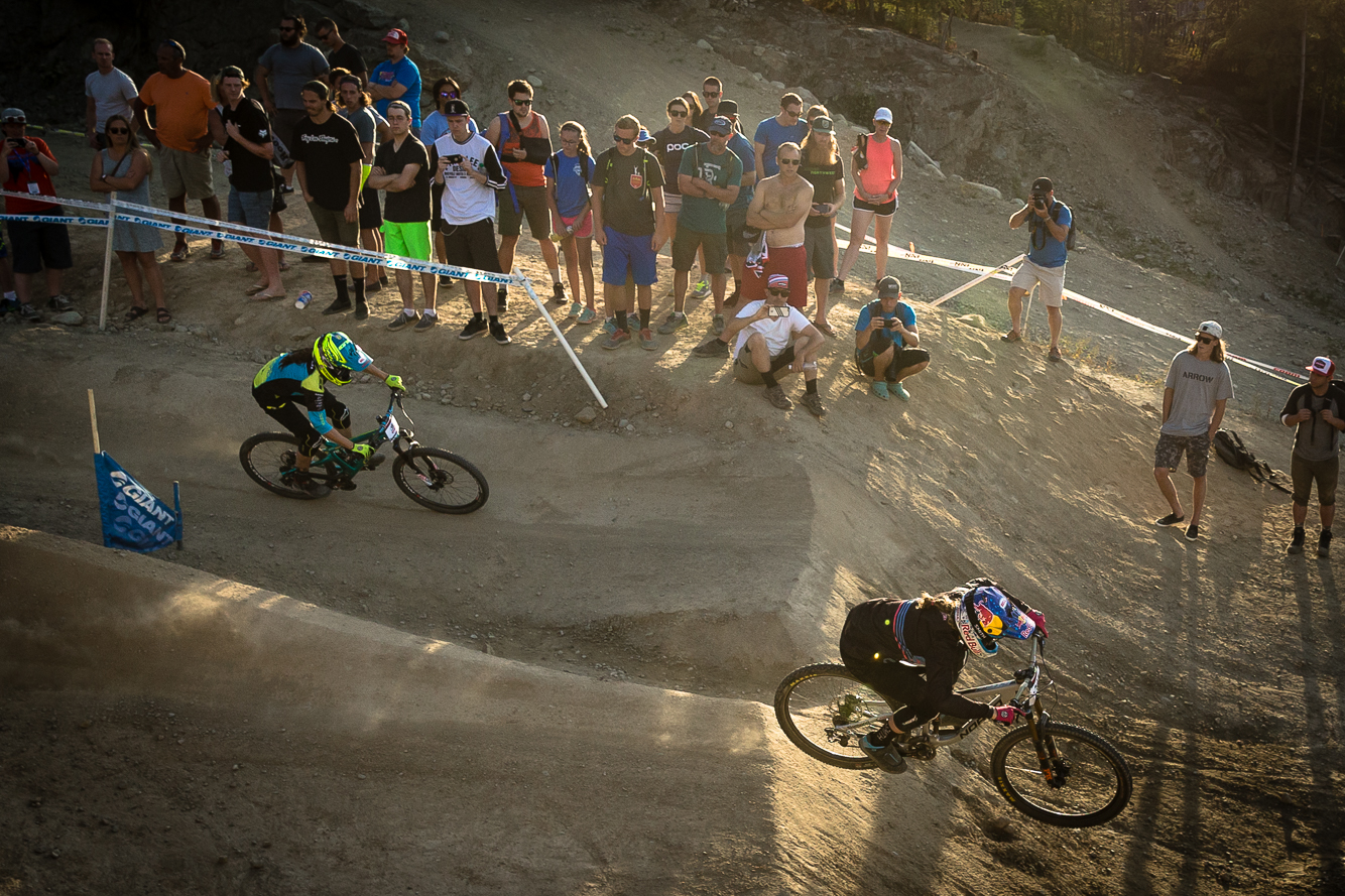WHISTLER, CANADA - AUGUST 19:  on August, 19, 2016 at Crankworx in Whistler, British Columbia, Canada.  (Photo by Clint Trahan/Crankworx)