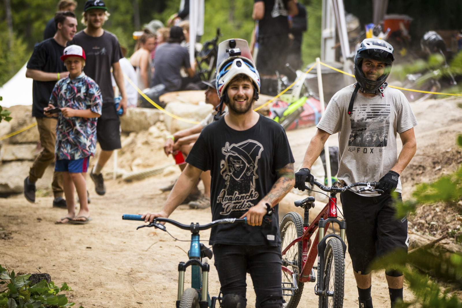 Everyone was all smiles.  Photo : Dylan Dunkerton