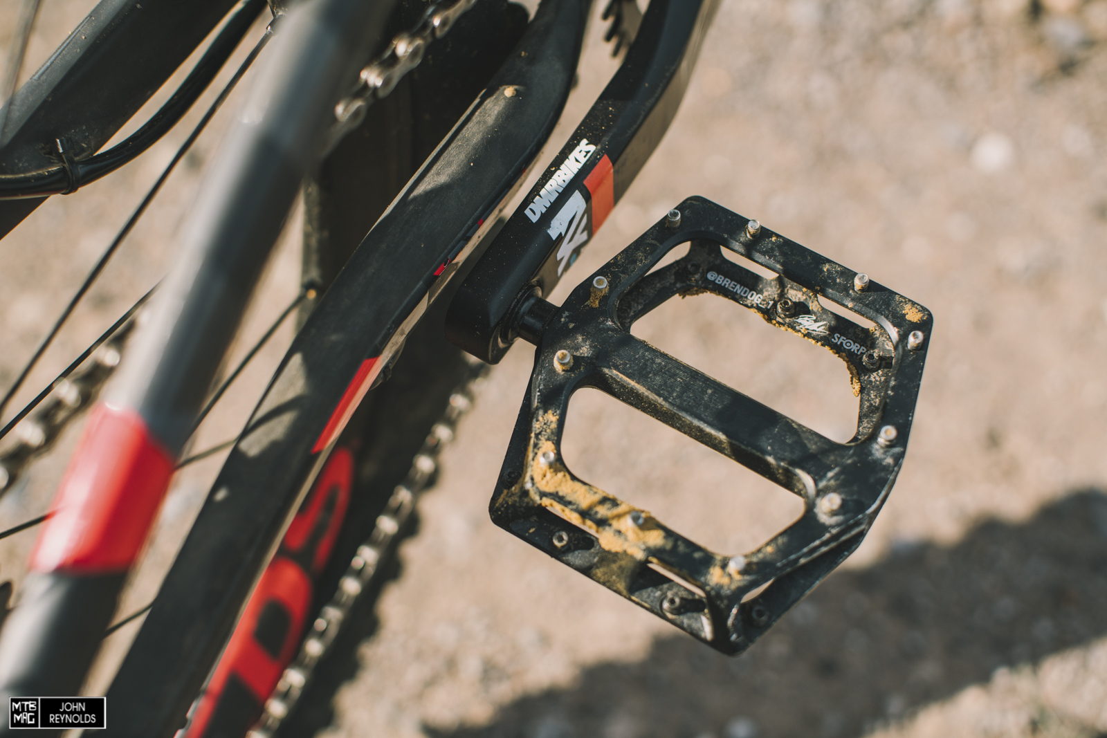 DMR Vault Brendog pedals.