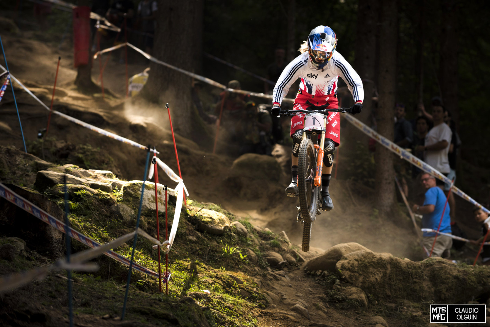 After a perfect season in World Cup Rachel Atherton is looking for the last big one...