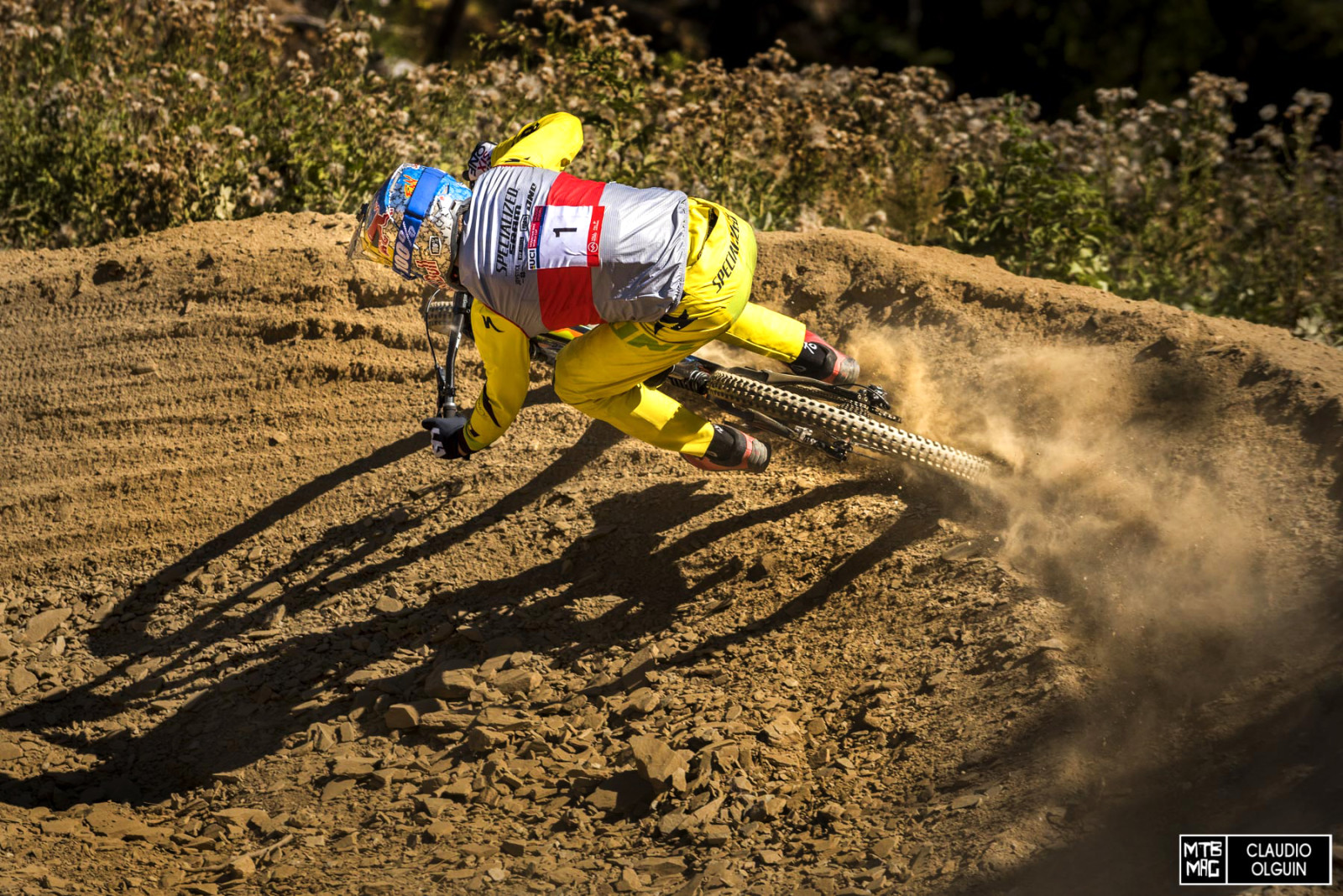 Just about 9 seconds up on everyone else. If he stays the course, Finn Iles will likely be the future of World Cup DH.