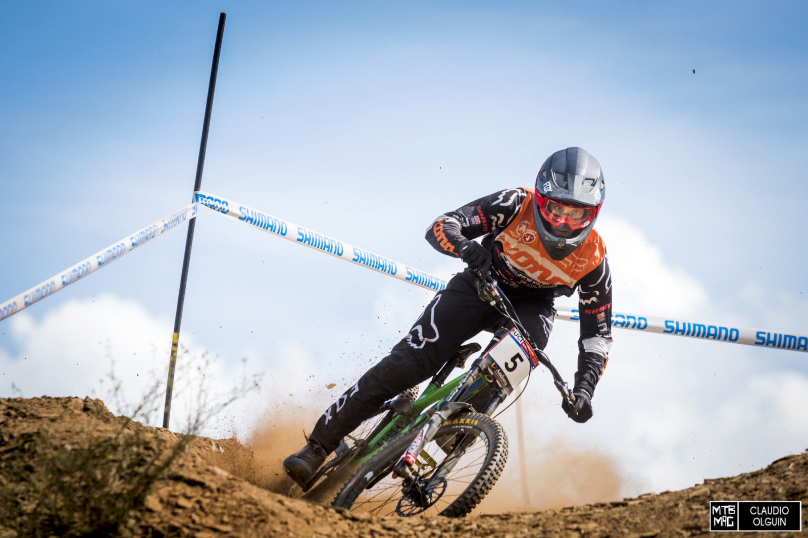 If Connor Fearon can step it up and have a huge result, this could be ...: www.mtb-mag.com/en/racing-andorra-practice-gallery