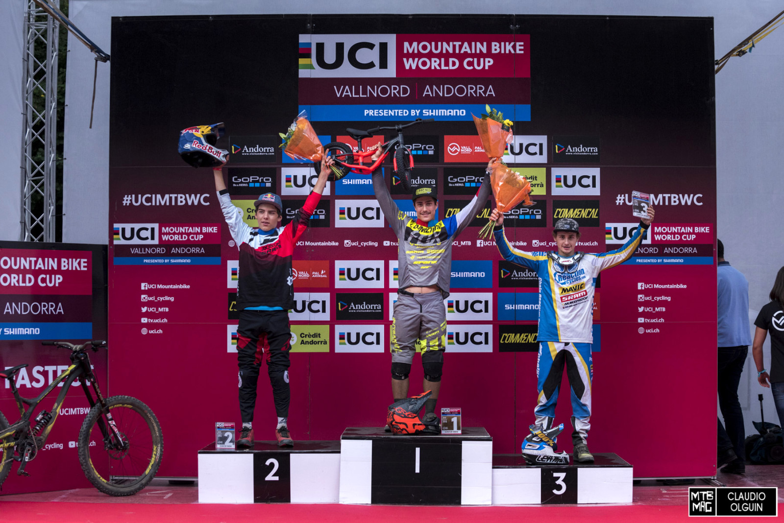 Men's Junior Podium